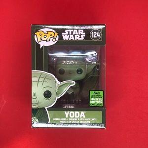 Funko Star Wars Yoda 124 ECCC 2021 Spring Conventi